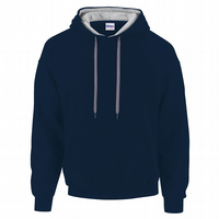 CHOOSE DESIGN - NAVY BLUE WITH GREY INNER HOOD